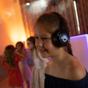 silent disco for kids party uckfield sussex