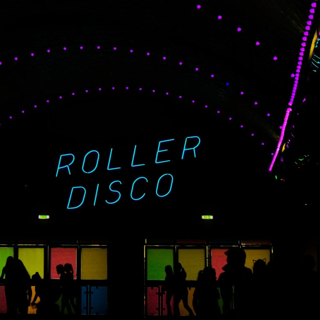 kids roller disco party crowborough east sussex